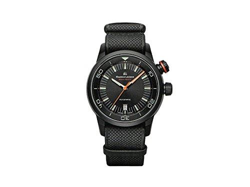Maurice Lacroix Pontos S Diver Automatik Uhr, PVD, ML 115, PT6248-PVB01-332-2