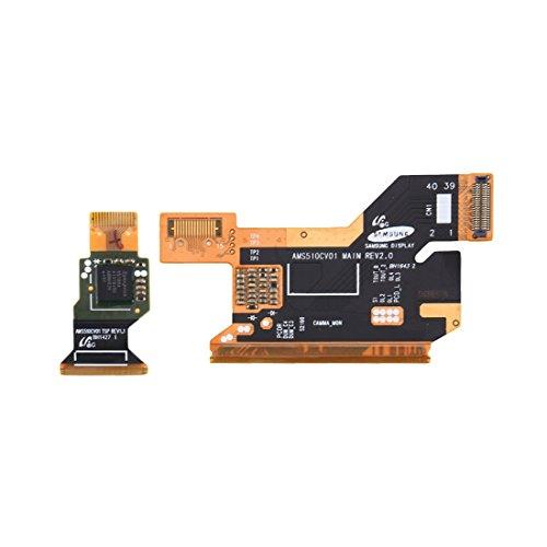 Garmol Un par para el reemplazo de los Cables Flexibles del Conector LCD Galaxy S5 / G900H / G900F
