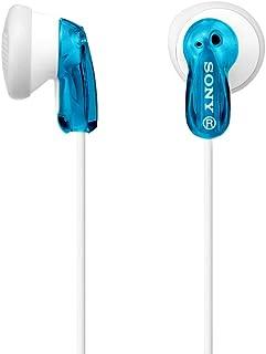 Sony MDR E9 Headphones - Blue (Pack of1)