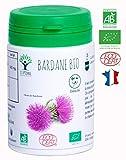 Bardane bio   60 gélules   Complément alimentaire   Beauté Peau Grasse   Bioptimal nutrition naturelle   Fabriqué en France   Certifié par Ecocert   Satisfait ou Remboursé 30jrs