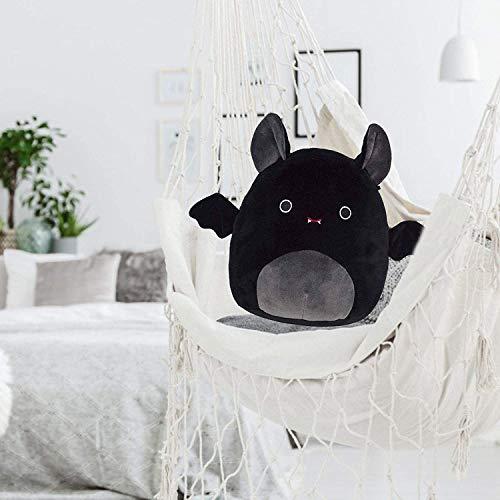 BESDAY 1 Stück Fledermaus Kuscheltiere Plüschtier, Plüschtiere Weiche Stofftiere Süße Tiere Spielzeug Puppe Dekorative Kissen für Kinder Geburtstag Weihnachten