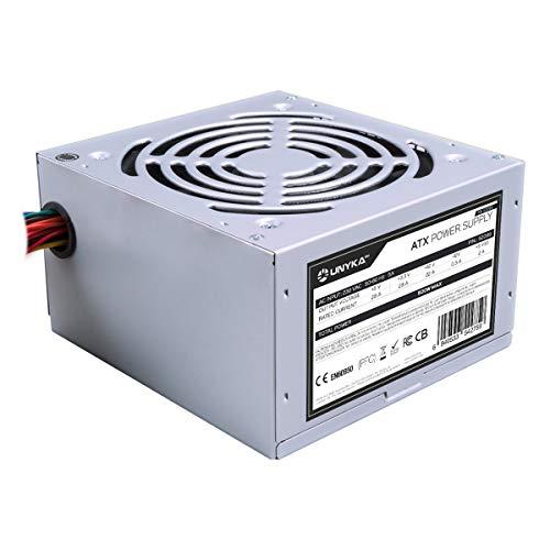 UNYKAch ATX 500W Unidad de - Fuente de alimentación (500 W,...