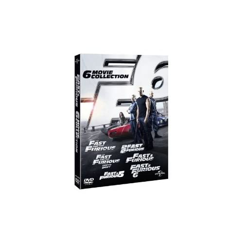 The Complete Fast And Furious DVD Movies Box Set Collection