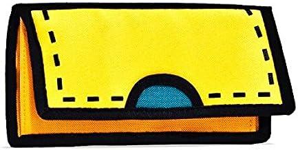 JumpFromPaper Spotlight Yellow Purse, Bag for Woman, Bag for Men, Cartoon, Design