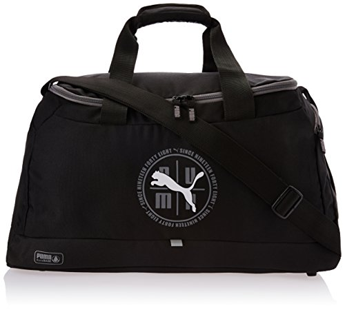 PUMA, Borsa sportiva Echo Sports Bag, Nero (Black), 54 x 26 x 27 cm
