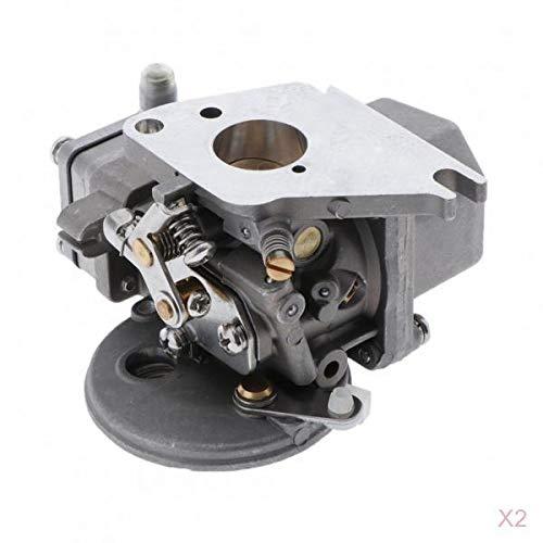 prasku Conjunto De Carburador De 2 Piezas 6E3-14301-00 para Yamaha 4HP 5HP 2