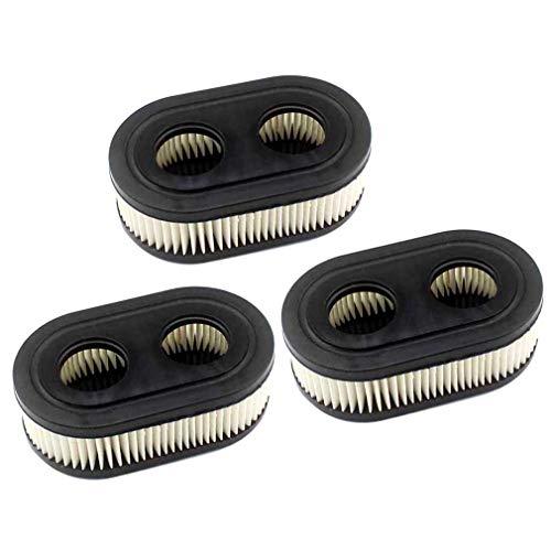 AISEN 3x Luftfilter für Briggs & Stratton Motoren 550E 550EX Eco-Plus 575EX Series Ersetzt 798339 798452 593260 093000er 09P0000er Motor 4247 5432 5432K