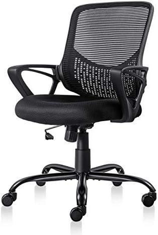 Best Smug Desk Kids Desk Chair with Lumbar Support Mesh