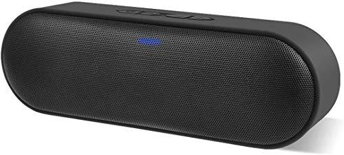 Bluetooth Lautsprecher, Tragbarer Kabelloser Bluetooth Lautsprecher mit Lautem 12W-Stereoton, satter Bass, 66ft Bluetooth-Reichweite und TF-Karten-Slot, ideal für Outdoor, Party, Reisen