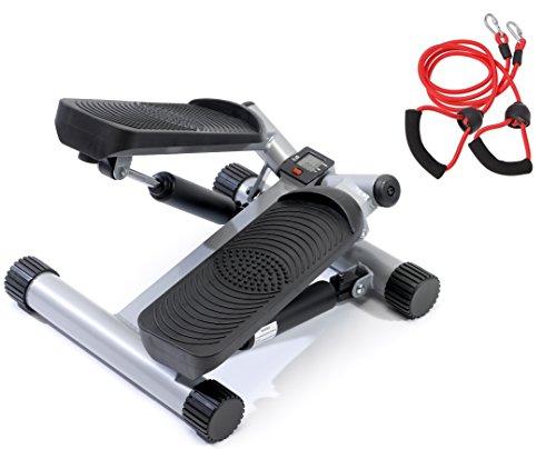 SportPlus Side-Stepper mit hochwertigen Hydraulikzylindern, Sicherheit geprüft nach EN ISO 20957-1