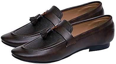 Hush Berry Tassel Loafer Formal Shoes for Men