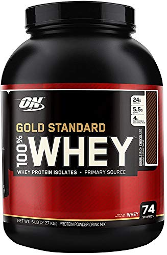 Optimum Nutrition 100 Whey Protein Gold Standard Double Rich Chocolate 5.15 lb
