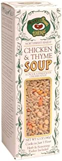 Buckeye Beans and Herbs Chicken 'n Thyme Soup, 12-Ounce Boxes (Pack of 12)