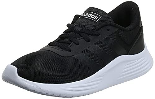 adidas Damen Lite Racer 2.0 Sneaker, Core Black/Core Black/Cloud White, 37 1/3 EU