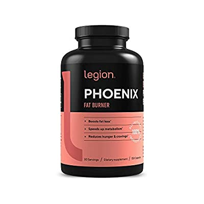 Legion Phoenix Thermogenic Fat Burners & Weight Loss Pills - 30 Serv, 90 Capsules