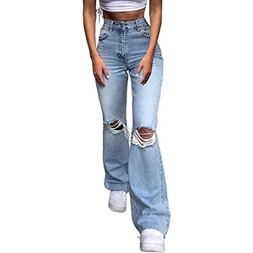 Yokbeer Pantalones de Mujer Pantalones de Jogging Pantalones Acampanados Pantalones Rectos Pantalones de Yoga Pantalones Anchos Casuales Pantalones Deportivos Pantalones para Correr Pantalones