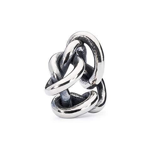 Trollbeads Silber Bead Leben, Lieben und Vergeben
