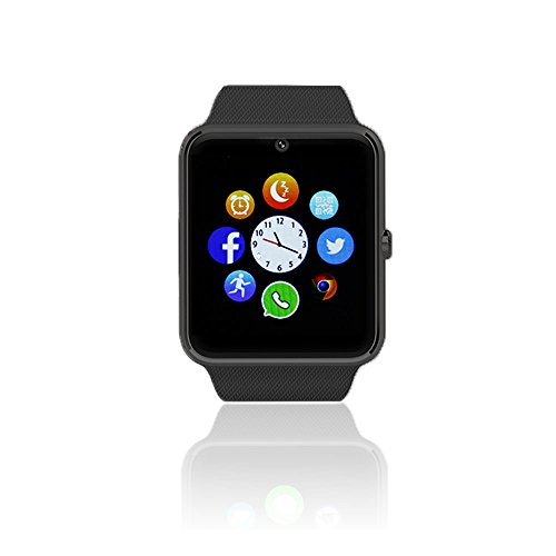 inDigi 2-in-1 Interchangeable GSM + Bluetooth Smart Watch & Phone w/Camera ~Unlocked!