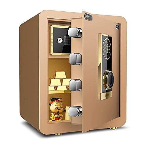 Caja fuerte digital, Caja fuerte electrónica, Caja de efectivo, Caja fuerte para el hogar, Caja con cerradura, Caja fuerte electrónica para el hogar con caja de seguridad invisible mediana, Caja de c