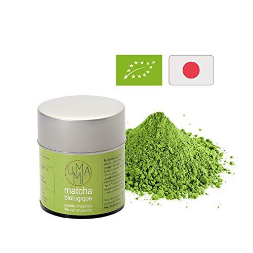 Poudre de thé vert Matcha Bio Japonais 100% - Qualité Impériale 30g - Uji, Japon - Japanese Organic Matcha Green Tea 100% - Imperial Quality 30g - Cérémonie du thé traditionnelle