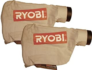 Ryobi BE318-2 Belt Sander Replacement Dust Bag Assembly (2 Pack) # 300027053 by Ryobi