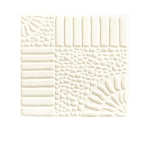 WYDMBH Paneles de Pared de PVC 10 unids 3D Etiquetas de Pared Stickers Room Piedra Autoadhesivo Papel Paneles Dormitorio Decoración Impermeable Papel Pintado Decoración del Hogar