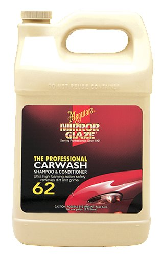 Meguiar's M6201 Mirror Glaze Car Wash Shampoo & Conditioner, 1 Gallon