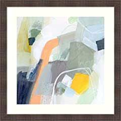 DIMENSIONS: The overall size of this custom framed art print measures 26.25 x 26.25 inches, including the Polar white mats and frame. The Whiskey Brown Rustic frame is 100% real wood and measures 1.49 x 0.765 inches. 100% REAL WOOD FRAME: Tumbled Top...