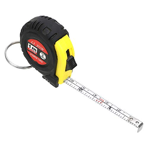 Cinta métrica llavero retráctil regla 1m herramientas de...