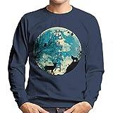 Cloud City 7 Nature Wildlife Silhouettes Men's Sweatshirt
