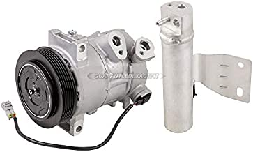 AC Compressor w/A/C Drier For Jeep Compass & Patriot 2012-2017 w/Remote Mounted Drier - BuyAutoParts 60-89575R2 New