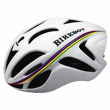 Casco de bicicleta unisex para hombre, 18 rejillas de ventilación, para ciclismo,...