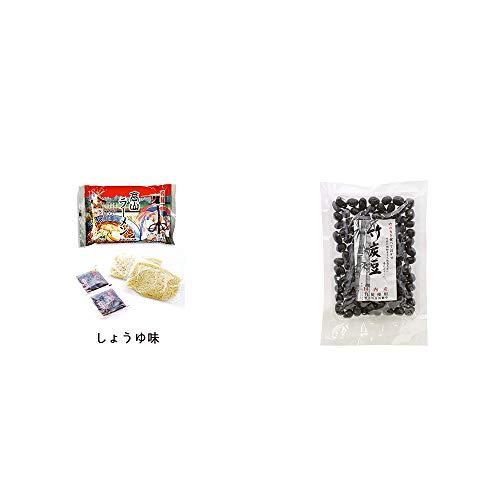 [2点セット] 飛騨高山ラーメン[生麺・スープ付 (しょうゆ味)]・国内産 竹炭使用 竹炭豆(160g)
