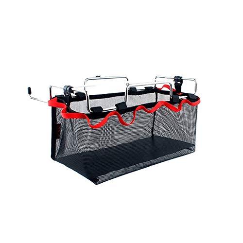Boîte à lunch pique-nique Sacs sac à lunch box Objets de stockage Mesh Sac Sac de rangement net de pique-nique Camping Cuisine Table pliante suspendue net (S M L) sacs de pique-nique Boissons