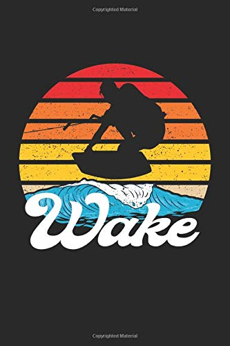 Wakeboard: Notebook A5 Lined - to plan, organize and write down