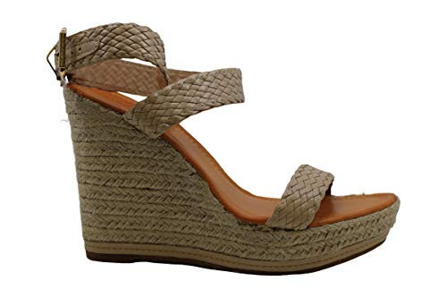 Madden Girl Womens Narla Open Toe Casual Platform Sandals Beige