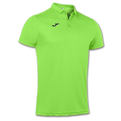 Joma Hobby, Polo para Hombre, Verde Fluor (020), M