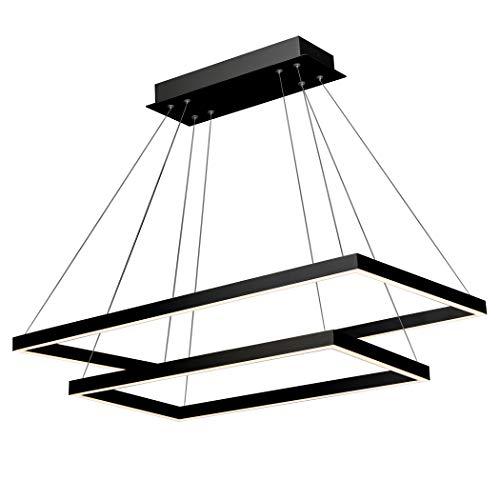 VONN VMC31710BL Integrated LED Chandelier, 29.25' L x 17.25' W x 120' (6') H, Black