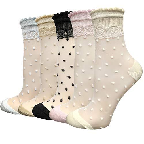 Cityelf 3 Pares calcetines de verano para las mujeres Ultra