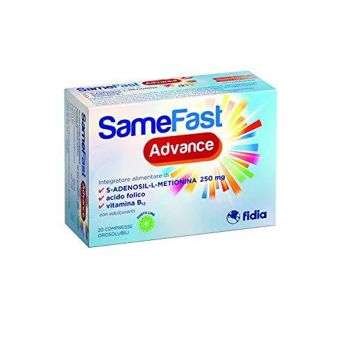 SameFast Advance Integratore Alimentare per il tono dell'Umore   Specifico per donne in menopausa...