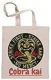 Cobra Kai Snake Bolsa De Compras Shopping Bag Beige