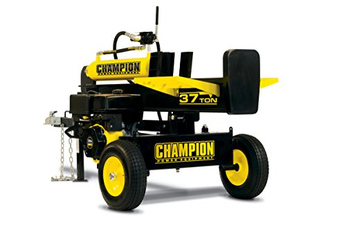 Champion 37-Ton Horizontal/Vertical Full Beam Gas Log Splitter with Auto Return