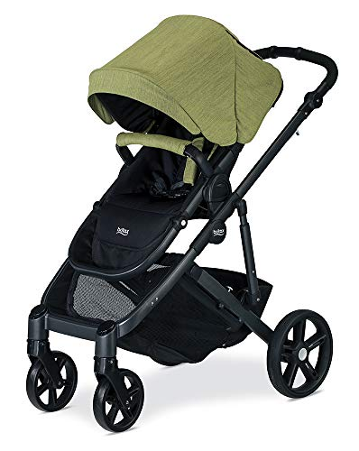 Britax B-Ready G3 Stroller, Pistachio Britax Versatile design, no flat rubber tires, and double seating with the same mobility as a single stroller Quick fold with 1 or 2 seats attached; 12 seating options when paired with the B Ready Bassinet, Britax Infant Car Seats, or B Ready Second Seat (all sold separately) Travel System ready: compatible with all Britax and BOB infant car seats 3