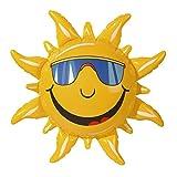 Widmann 2390S Aufblasbare Sonne 2390S-Deko, Circa, ca. 60 cm -