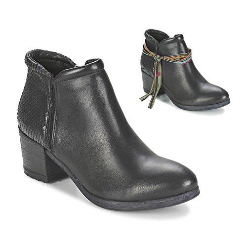 Felmini Ramses Stiefelletten/Boots Damen Schwarz - 41 - Ankle Boots Shoes