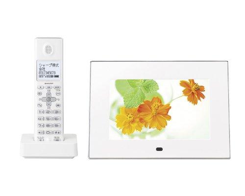 シャープ デジタルコードレス電話機 子機1台タイプ ホワイト系 JD-7C1CL-W