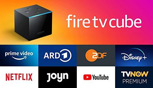 Fire TV Cube│Hands-free mit Alexa, 4KUltraHD-Streaming-Mediaplayer