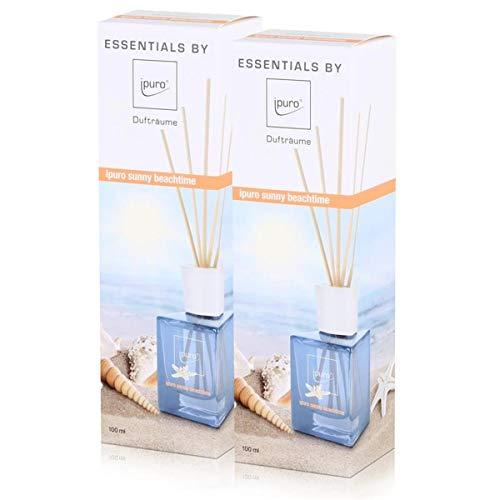 Essentials by ipuro sunny beachtime 100ml Raumduft (2er Pack)