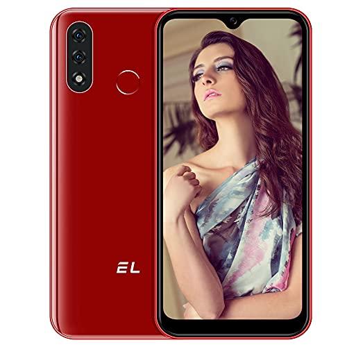 EL D60 PRO Smartphone 4G, 3GB 32GB 4000mAh Batteria Android 10 Cellulari Offerte 6.51 Pollici HD+ Schermo 128GB Espandibili Mobile, 13MP Tripla Fotocamera Sblocco Viso Dual SIM Telefono Cellulare
