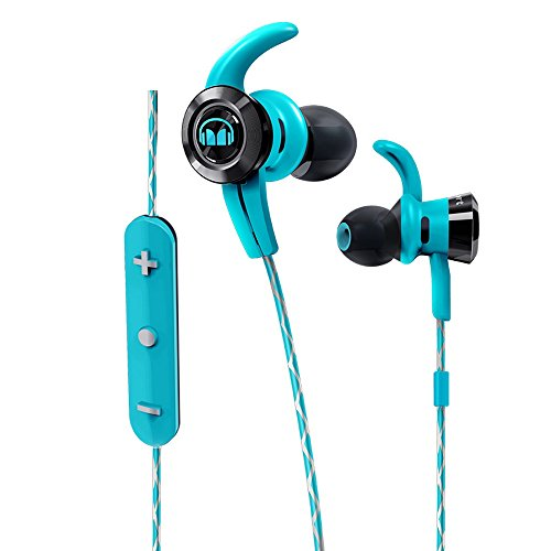 Monster iSport Victory Bluetooth Wireless In-Ear Kopfhörer blau